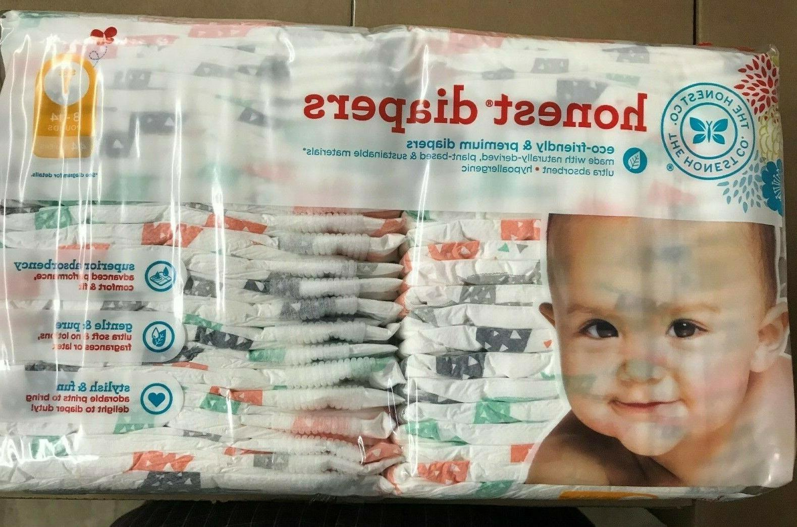 44 ct pack diapers size 1 giraffe