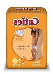 Cuties Baby Diaper Size 6, Over 35 lbs. CR6001 92 /Case