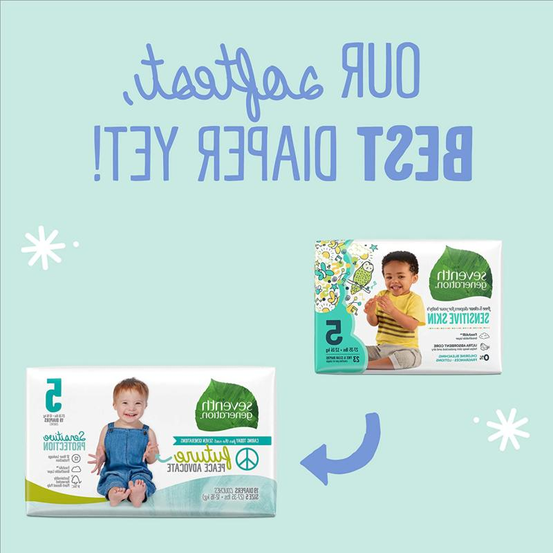 Baby for Sensitive Skin, 5, count