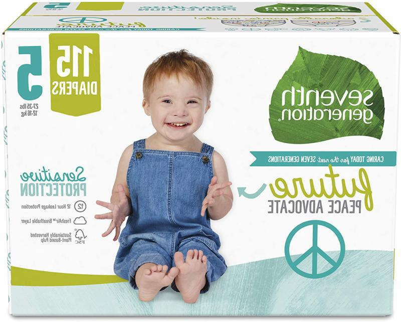 baby diapers for sensitive skin size 5