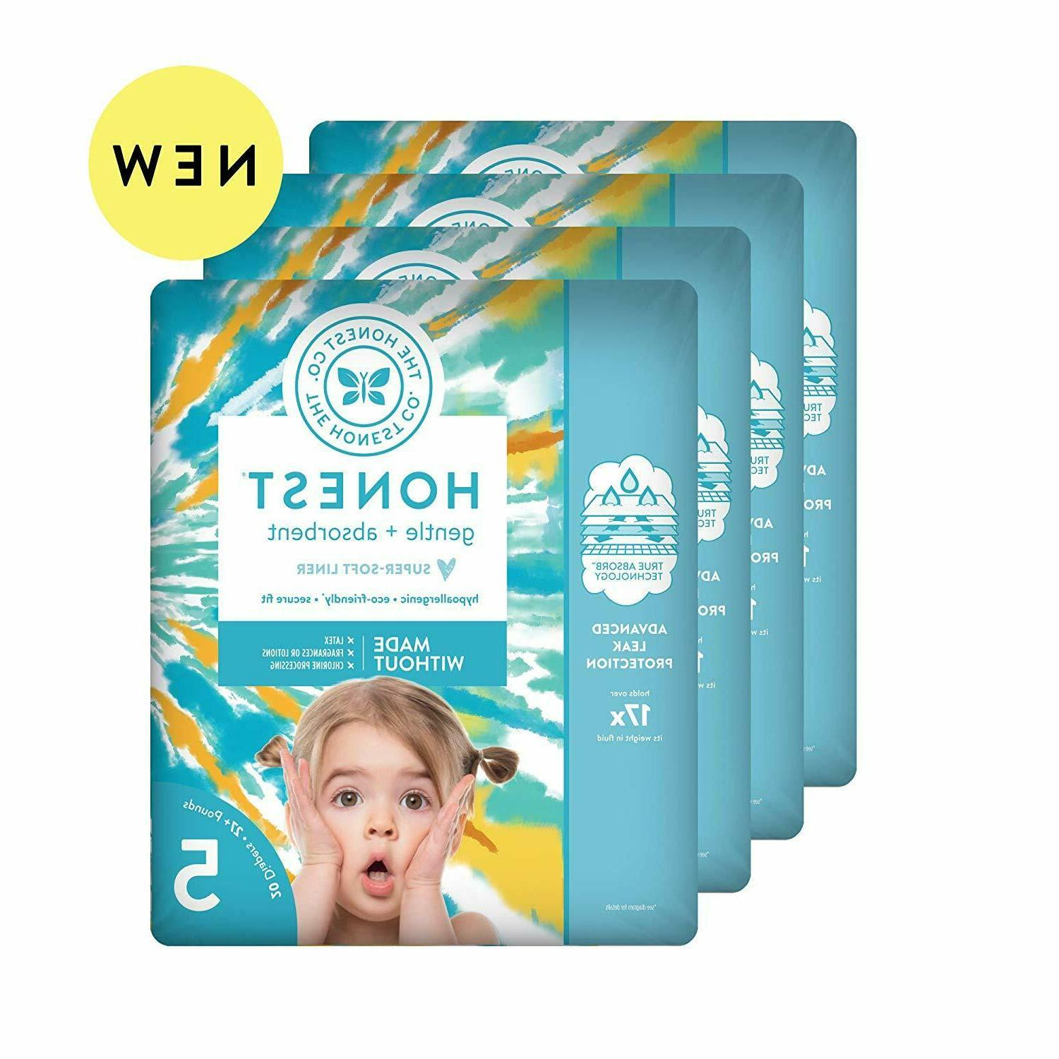 baby diapers with trueabsorb technology size 5
