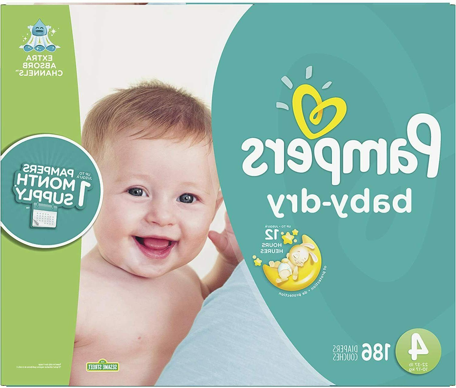 Pampers Baby Diapers Mega Pack