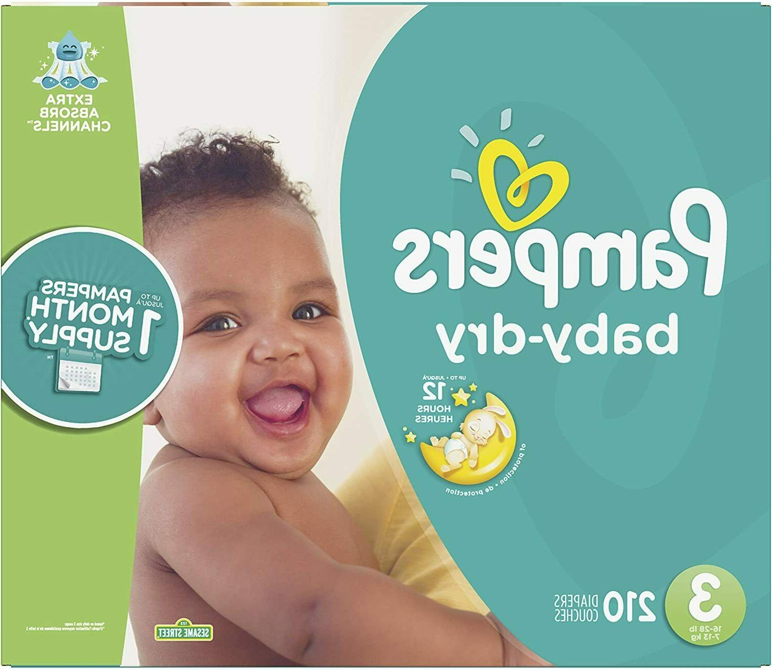 Pampers Baby Diapers Mega