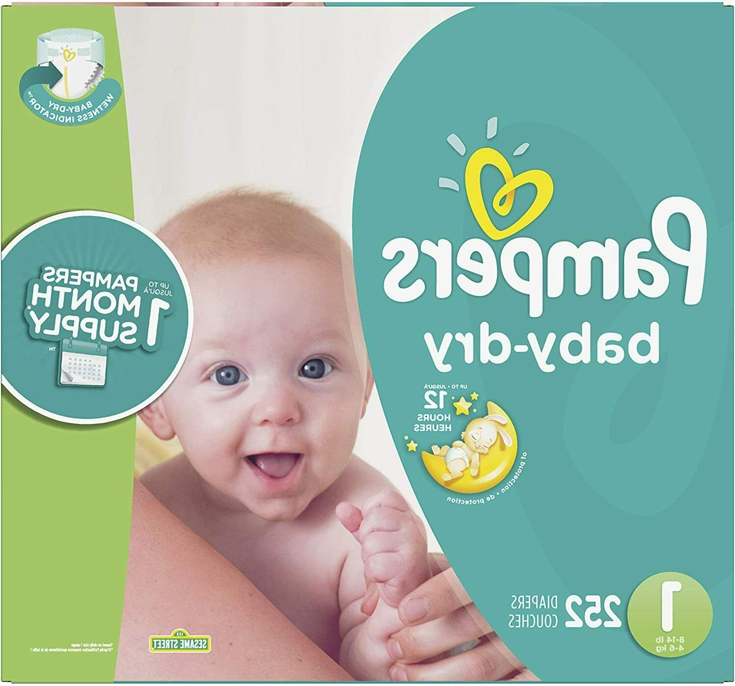 baby dry diapers mega pack choose size