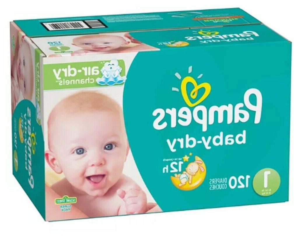 baby dry diapers newborn size 1 120