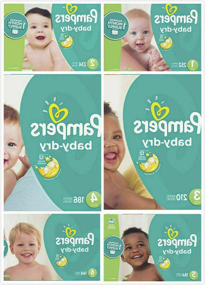 baby dry diapers size 2 3 4