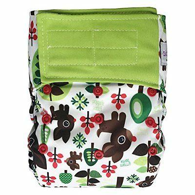 EcoAble Baby Diaper Size 10-35Lbs, Belted
