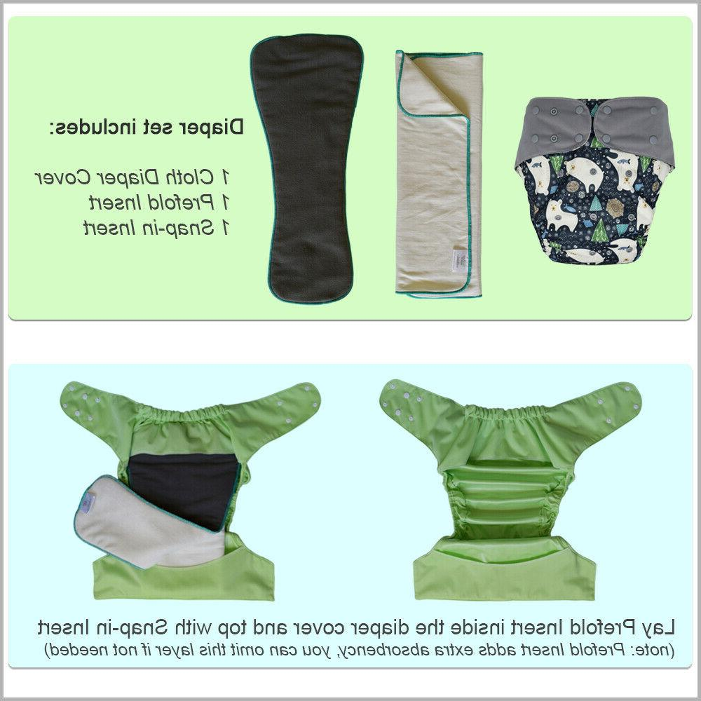 Cloth Diaper Set: Special Briefs for Big Kids or Adults