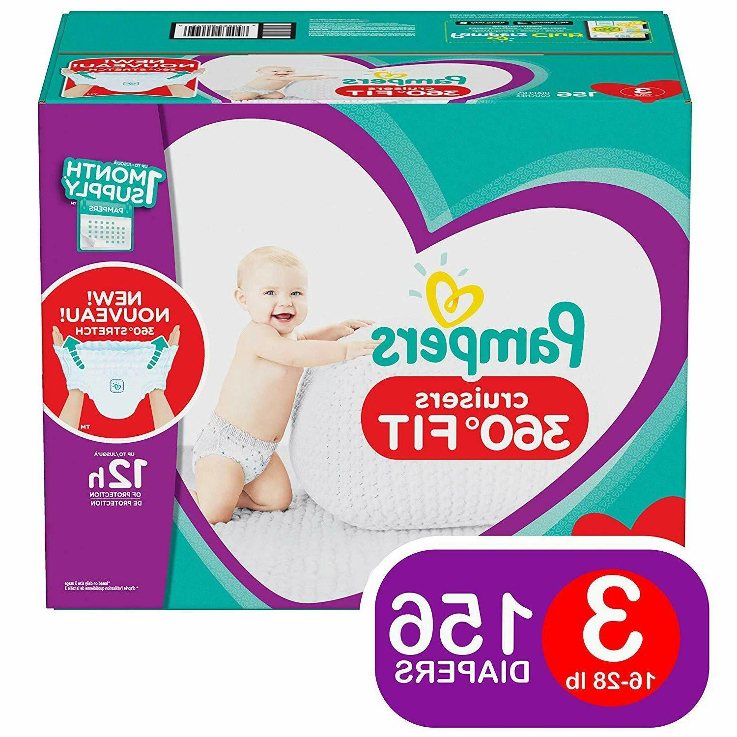 cruisers baby diapers 360 fit size 3
