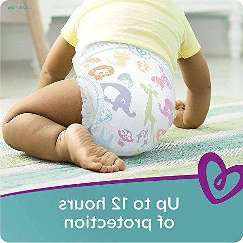 Pampers Diapers, Size Count, ONE MONTH SUPPLY