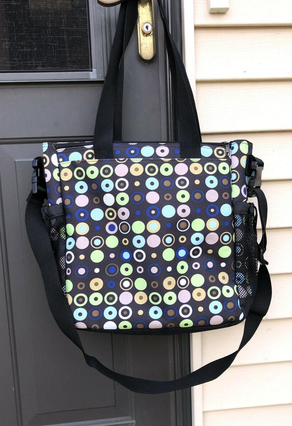 Diaper Bag, Tote, By 2 Side Pockets, of Pockets NEW
