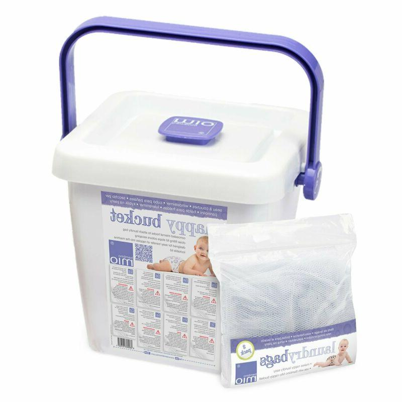 diaper pail and laundry bags