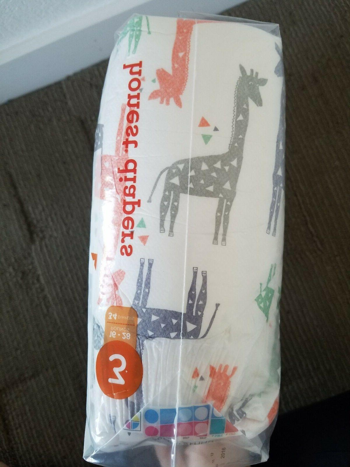 The Company Diapers Giraffes Size 3 16 28 lbs 34