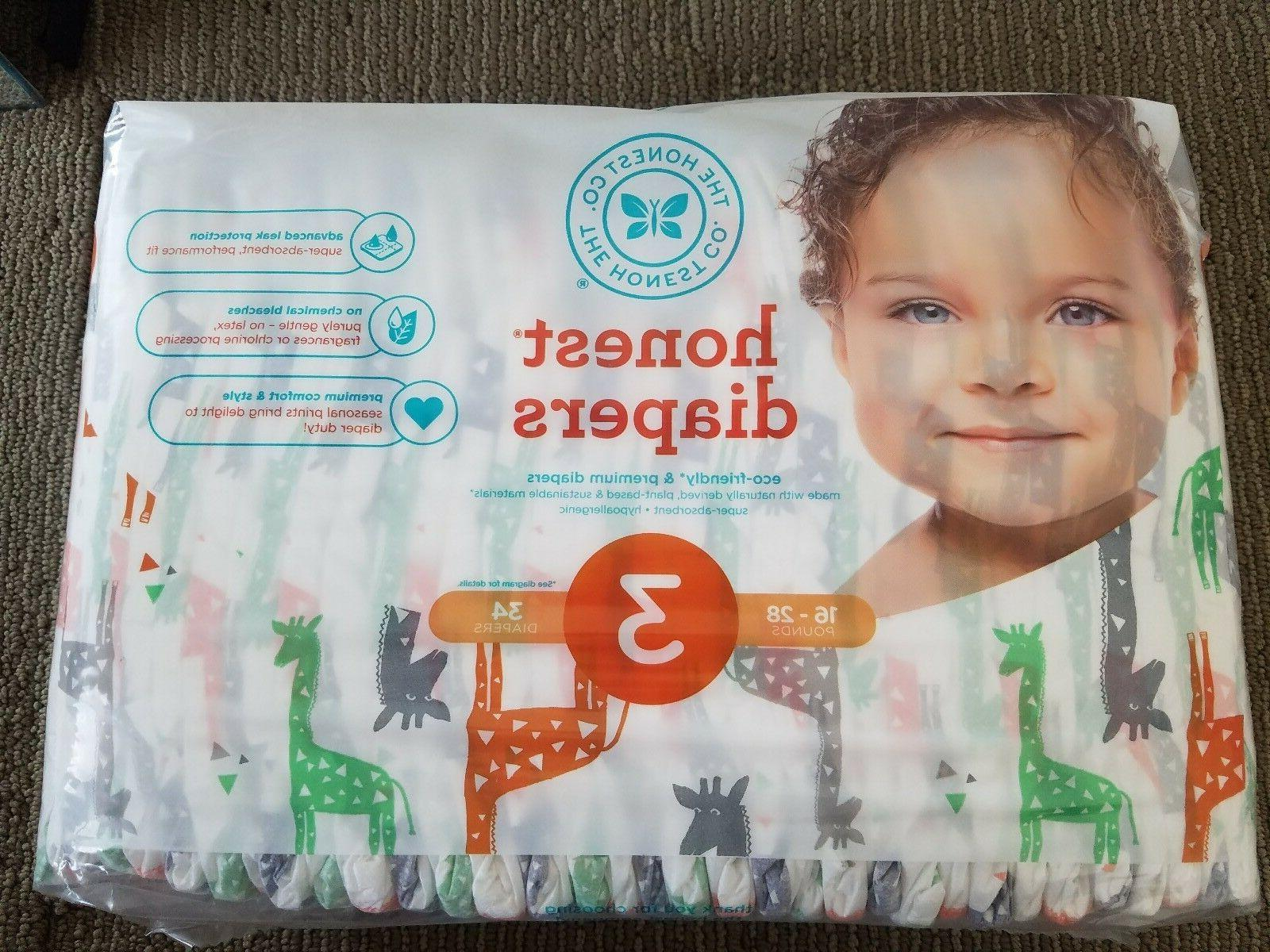 diapers giraffes size 3 babies 16 to