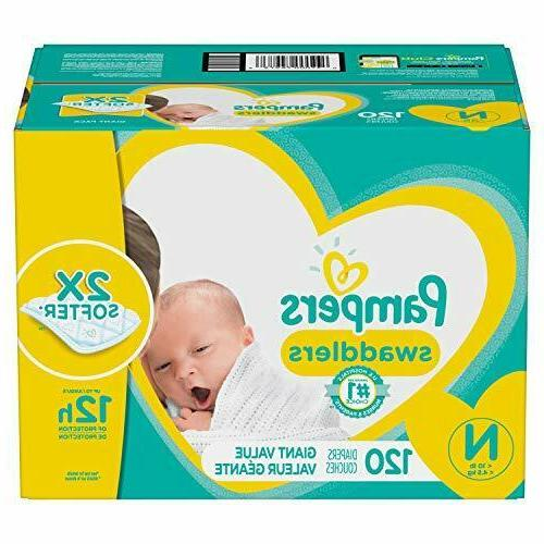 Diapers 0,1,2,3,4,5,6 Swaddlers Disposable Baby Giant Pack