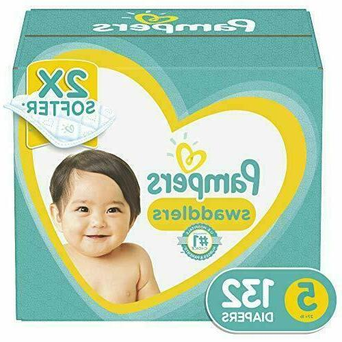 Diapers Size Swaddlers Disposable Baby Giant Pack