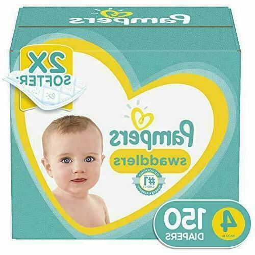 Diapers 0,1,2,3,4,5,6 Swaddlers Disposable Baby Diapers, Giant