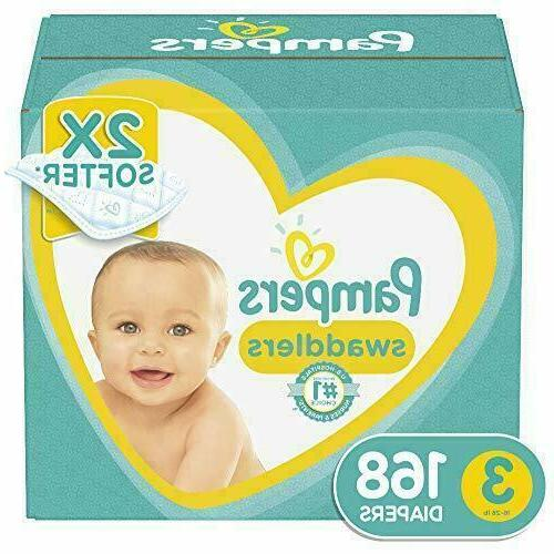 Diapers Pampers Swaddlers Giant Pack