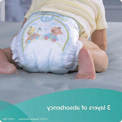 Diapers Count - Dry Disposable Baby Diapers, ONE MONTH