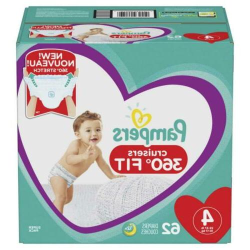 diapers size 4 62 count pull on