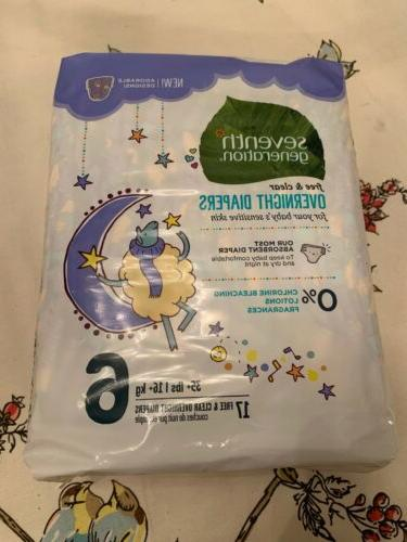 diapers size 6 17 ct jumbo pack