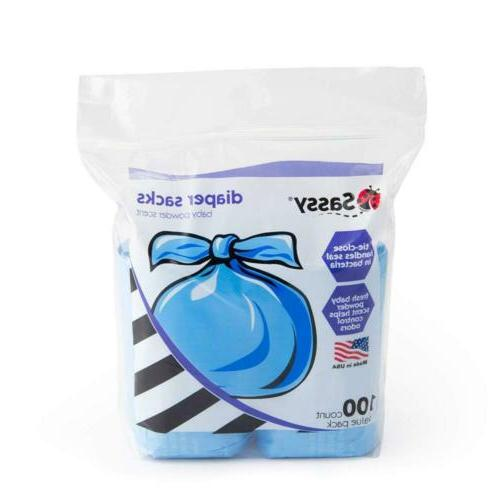 Sassy Disposable Scented Sacks