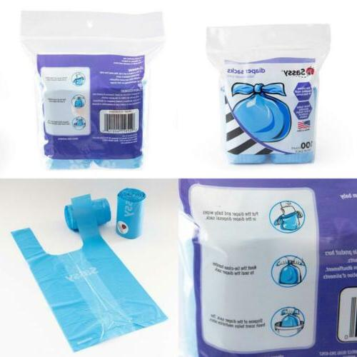 disposable scented diaper sacks 100 count