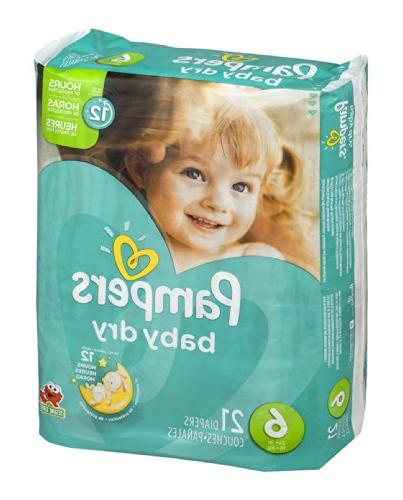 Pampers Dry Size 6 21