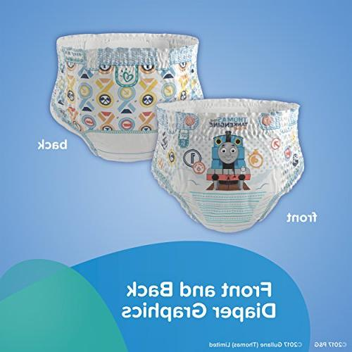 Pampers Ups Pants Pull Diapers Boys Size 4 74 Super
