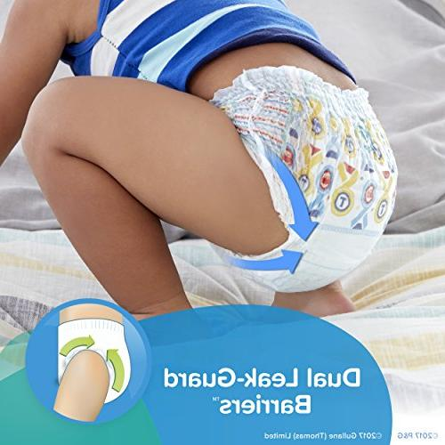 Pampers Pants Pull Diapers Boys Size 4 74 Super