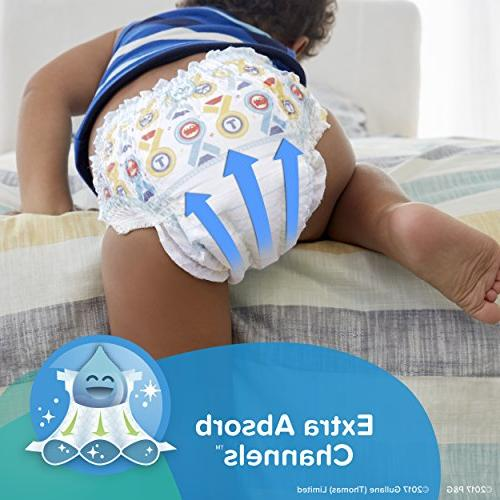Pampers Easy Ups Pants Pull On Diapers Underwear, 4