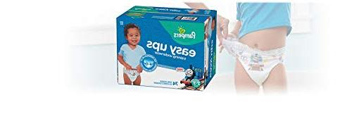 Pampers Ups Pants On Disposable Diapers Underwear, 4 74 Super