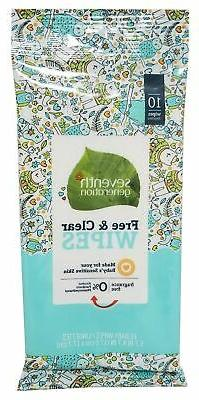 Seventh Generation Free and Clear Baby Wipes - 10 count