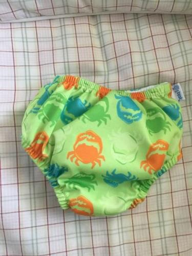 i play Crabs Snap Reusable Absorbent Diaper Size Months