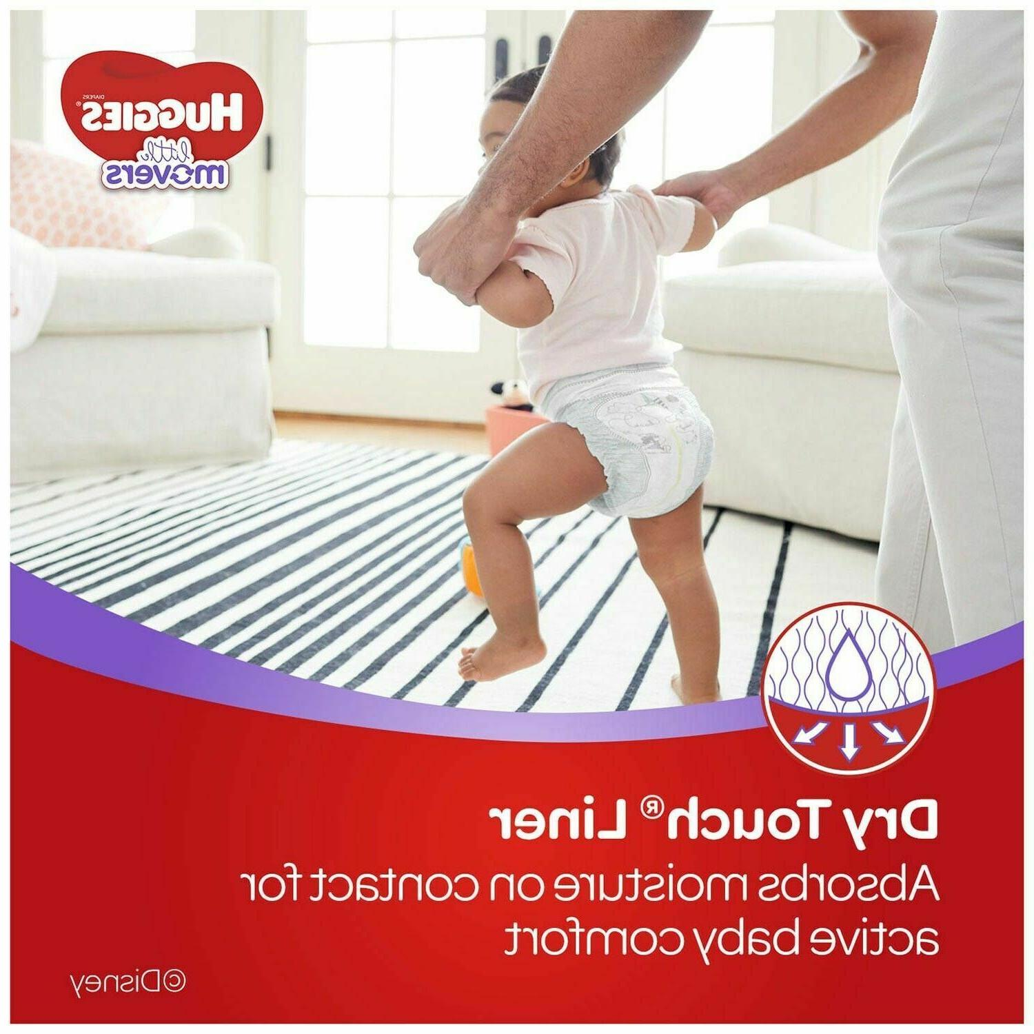 Huggies Little Movers Diapers 1 3 4