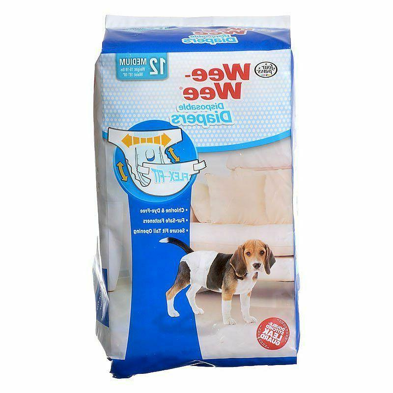 LM Paws Wee Diapers 12 (Dogs