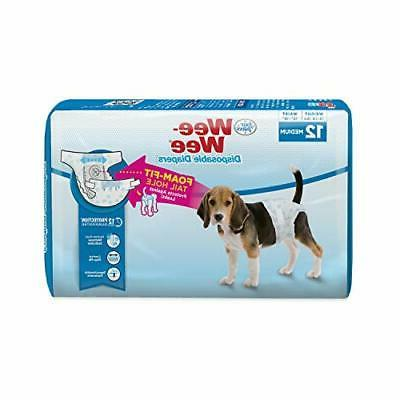 lm wee wee diapers for dogs 12