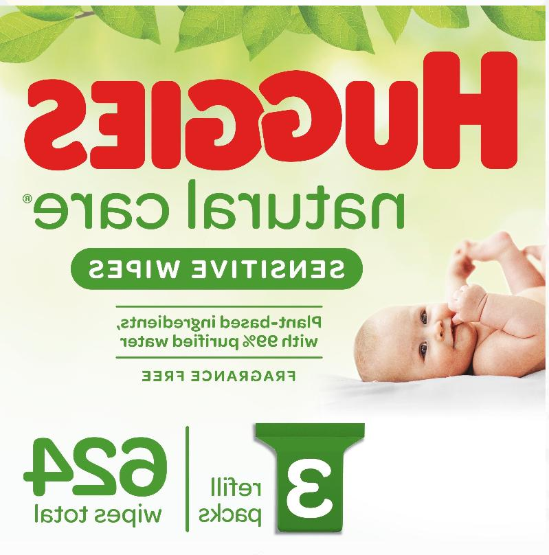 natural care sensitive baby wipes unscented 3