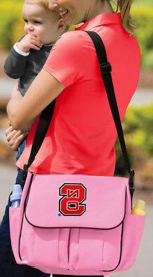 NC State Diaper Bag Official NCAA Logo BEST Shower Gifts for