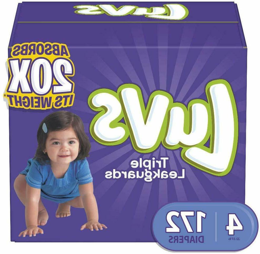 NEW LUVS Ultra Baby Diapers Size 2, 3. 5, 6 CHEAP!!!
