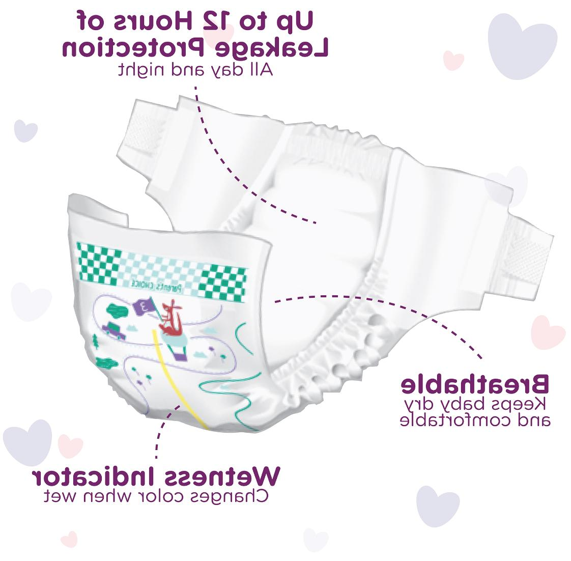 Overnight Size Parent's Choice PAMPERS CHEAP!