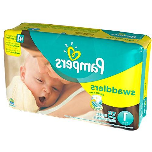 Pampers Diapers - Size 35 ct