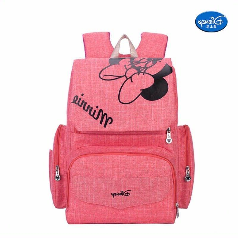 pink minnie mouse diaper bags mummy maternity