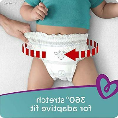 Pampers Diapers 4 Fit Baby Count