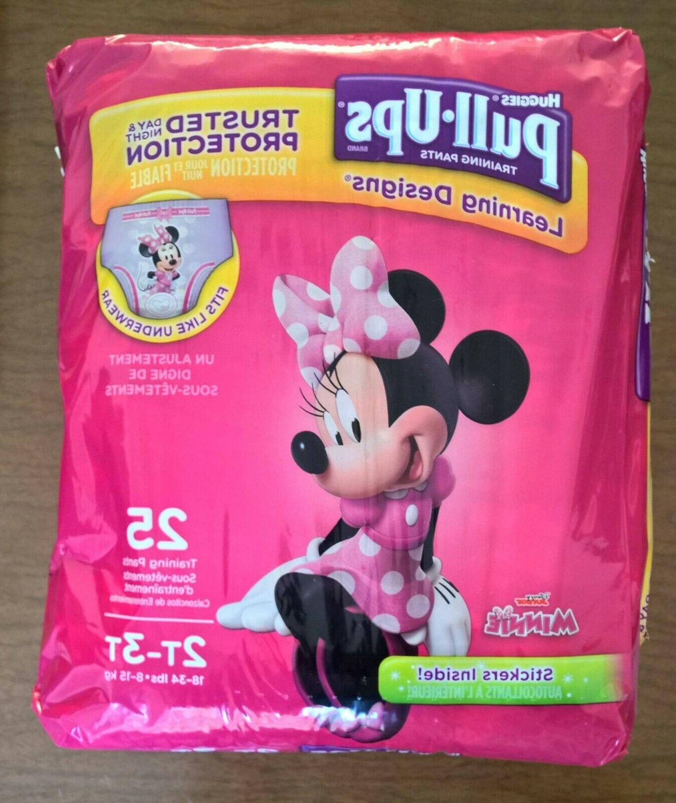 Huggies Pull•Ups for Girls w/ Designs, 25 count
