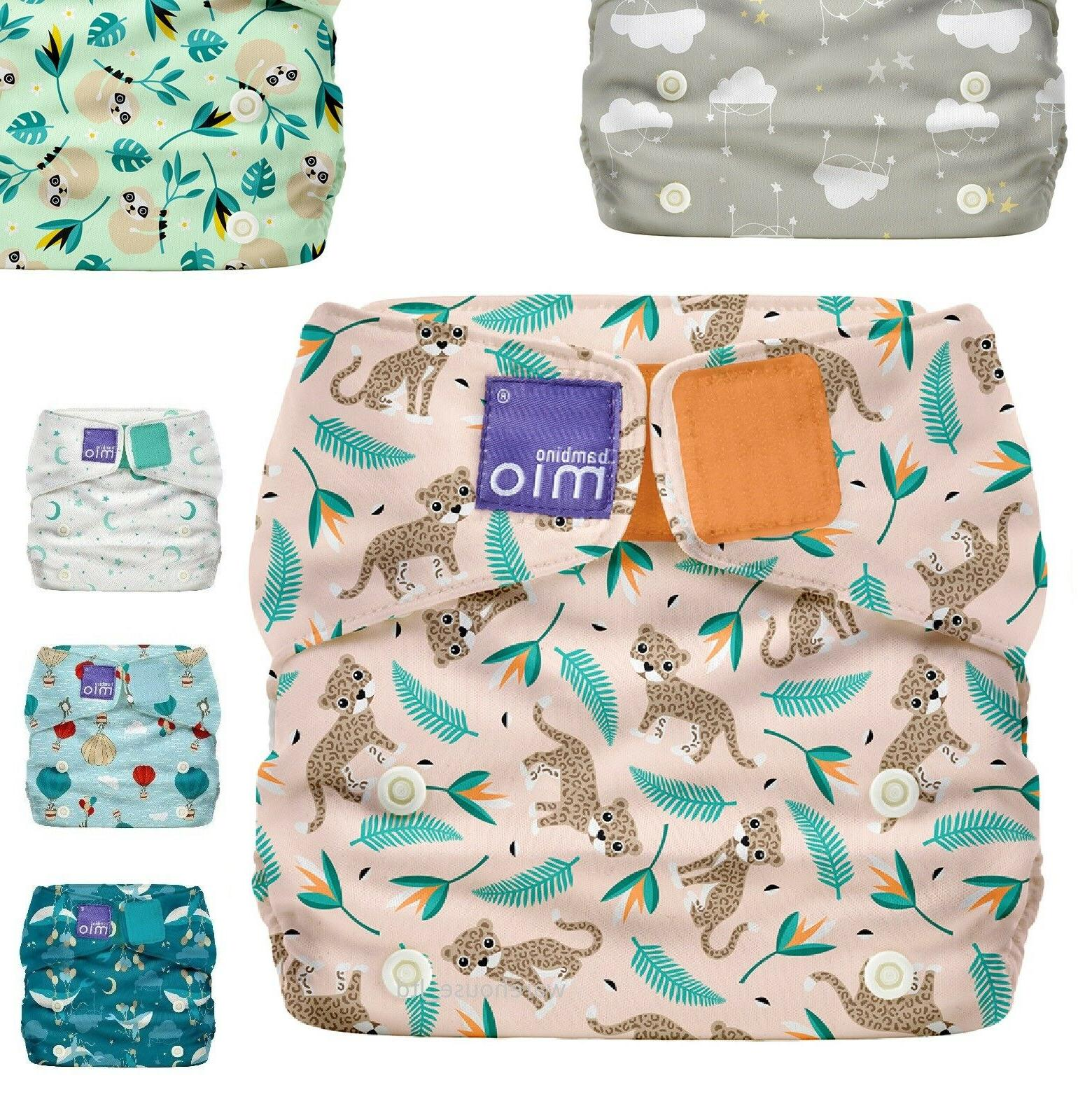 reusable nappy miosoft cover adjustable diaper cover