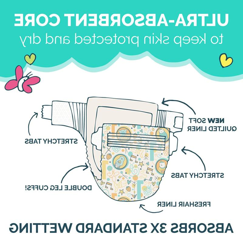 Baby Diapers Skin, Size 5,