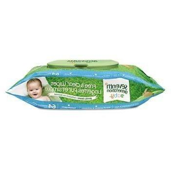 SEVENTHGENERATION 34208 Clear Baby Unscented,