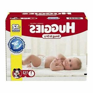 size 1 disposable diapers 100 count