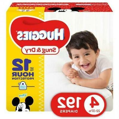 snug and dry baby diapers size 4